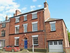 Overton Bank House in Leek, Staffordshire, England