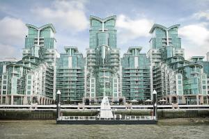 St George Wharf in London, Greater London, England