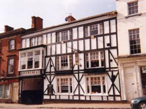 The Queens Head Hotel in Ashby de la Zouch, Leicestershire, England