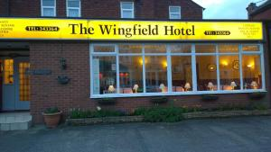 The Wingfield Hotel in Blackpool, Lancashire, England