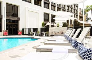 Beverly Hills Marriott, Отели  Лос-Анджелес - big - 49