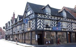 Tudor House Hotel in Market Drayton, Shropshire, England