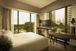Premium One-Bedroom Apartment with City View