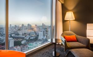 Deluxe King or Double Room with City View