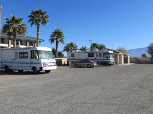 Parking Space for 41 Foot Motorhome Site – 30 Amp