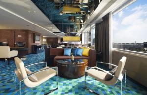 Quarto Duplo ou Twin Executivo com Vista Mar e Acesso ao Club Lounge