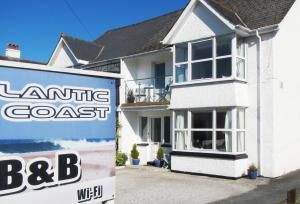 Atlantic Coast B&B in Newquay, Cornwall, England