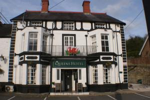The Queens Hotel in Chirk, Wrexham, Wales