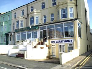 The Derby Hotel in Blackpool, Lancashire, England