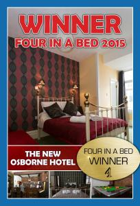 The New Osborne Hotel in Blackpool, Lancashire, England
