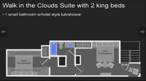 King Suite - Upper Floor