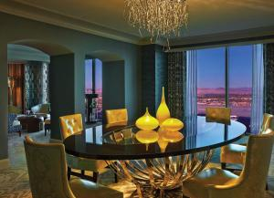 Presidential Suite with Strip View