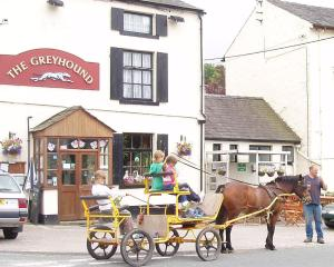 The Greyhound Inn in Grizebeck, Cumbria, England