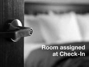 Room Selected at Check In