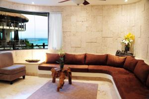 Two-Bedroom Suite with Partial Sea View
