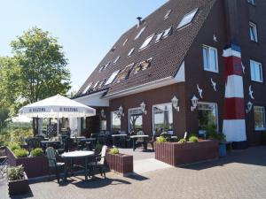 Hotel Restaurant Wattenschipper, Hotely  Nordholz - big - 46