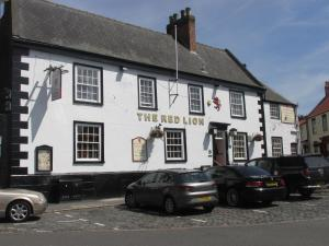 Red Lion Coaching Inn in Epworth, Lincolnshire, England