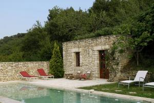 B&B La Bastide Desmagnans, Bed & Breakfast  Lacoste - big - 21