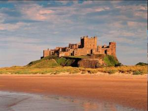 Hillcrest House in Bamburgh, Northumberland, England