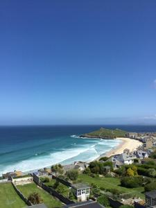 Ten Ocean View in St Ives, Cornwall, England