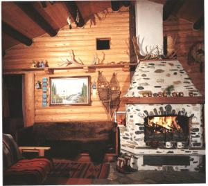 Two-Bedroom Chalet with Fireplace