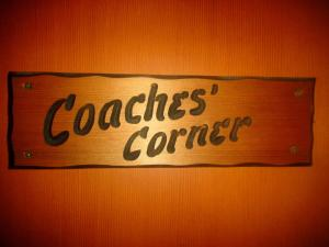 Coaches Corner Room