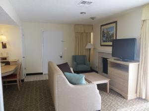 Studio Suite with Two Double Beds - Sofa Bed
