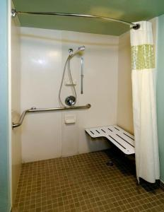 Double Room with Two Double Beds - Disability Access/Roll-In Shower
