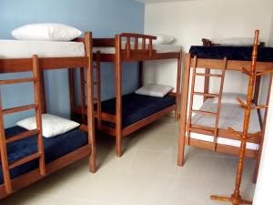 Bed in 7-Bed Mixed Dormitory Room with Private Bathroom