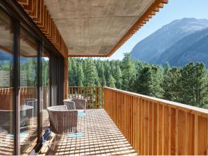 Alpine Lodge Chesa al Parc, Apartments  Pontresina - big - 18