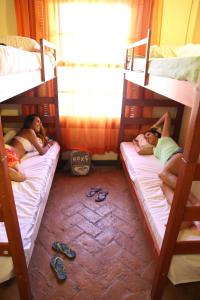 Bed in 6-Bed Female Dormitory Room with Internal Bathroom