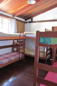 Bed in 10-Bed Female Dormitory Room with Internal Bathroom