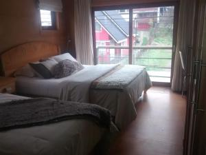 Double Room with Extra Bed and Balcony with City View