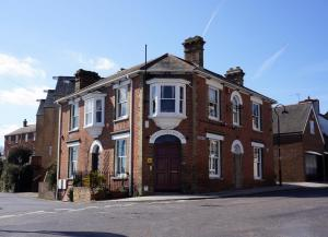 Britannia House in Lymington, Hampshire, England