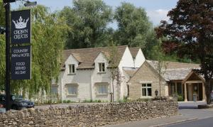The Crown of Crucis Country Inn and Hotel in Cirencester, Gloucestershire, England