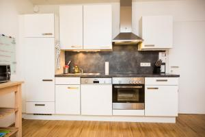 New central apartment with terrace and garage, Ferienwohnungen  Wien - big - 7