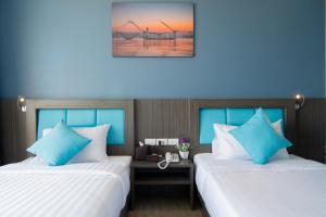 The Blue Hotel, Hotel  Chalong  - big - 53