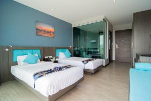 The Blue Hotel, Hotel  Chalong  - big - 63