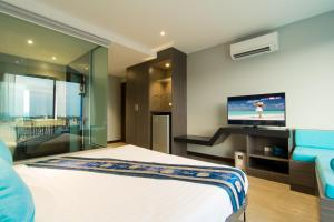 The Blue Hotel, Hotel  Chalong  - big - 37