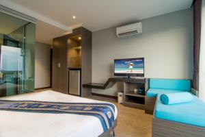 The Blue Hotel, Hotel  Chalong  - big - 36