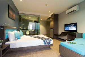 The Blue Hotel, Hotel  Chalong  - big - 29