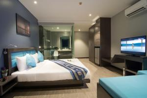 The Blue Hotel, Hotel  Chalong  - big - 19