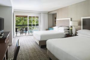 Double Room with Two Double Beds Pool View