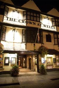 The Crown at Wells, Somerset in Wells, Somerset, England