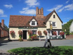The Peacock Inn in Chelsworth, Suffolk, England