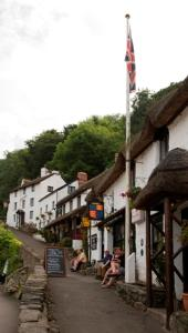 Rising Sun Hotel in Lynmouth, Devon, England