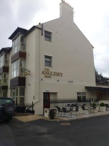 Anglesey Arms Hotel in Menai Bridge, Isle of Anglesey, Wales