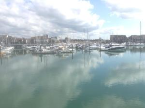 Ocean Village in Southampton, Hampshire, England