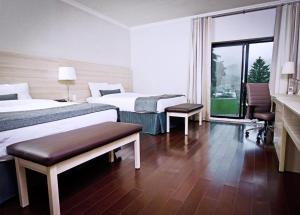 Superior Queen Room with Two Queen Beds with View