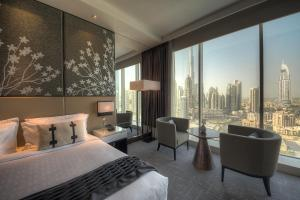 Superior Twin Room with Burj Khalifa View